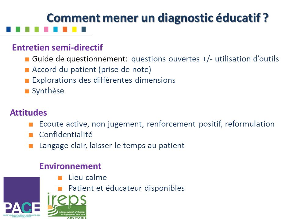 Comment mener un diagnostic éducatif