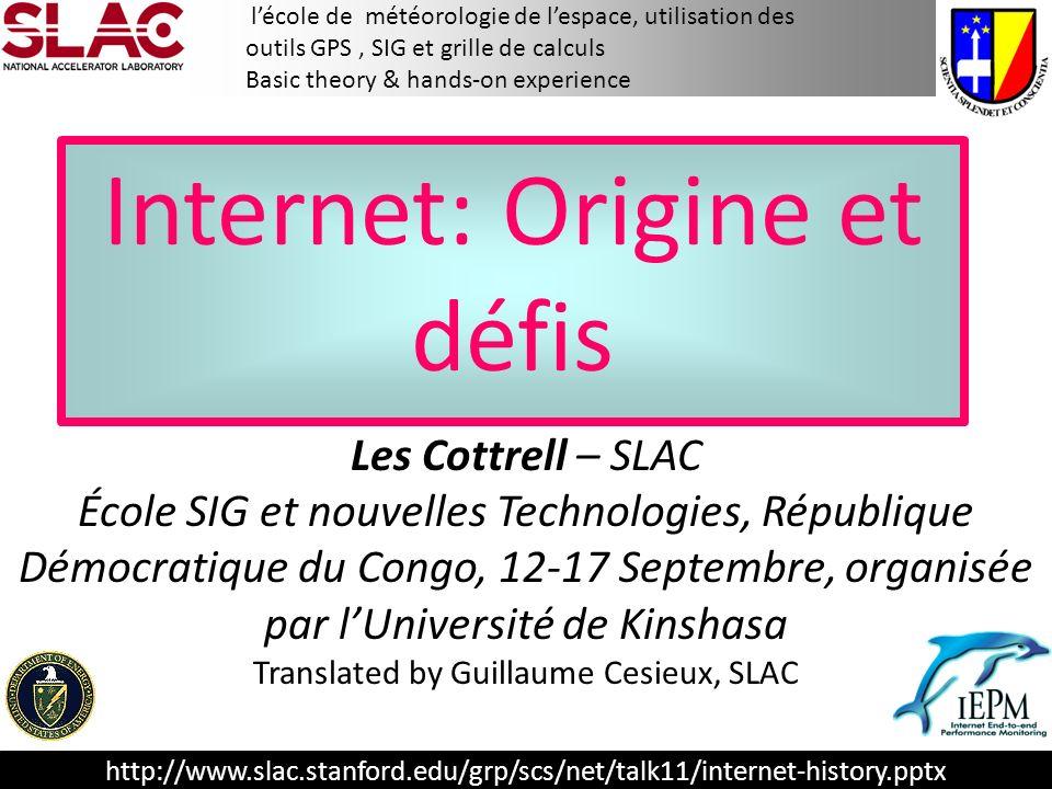 Internet: Origine et défis