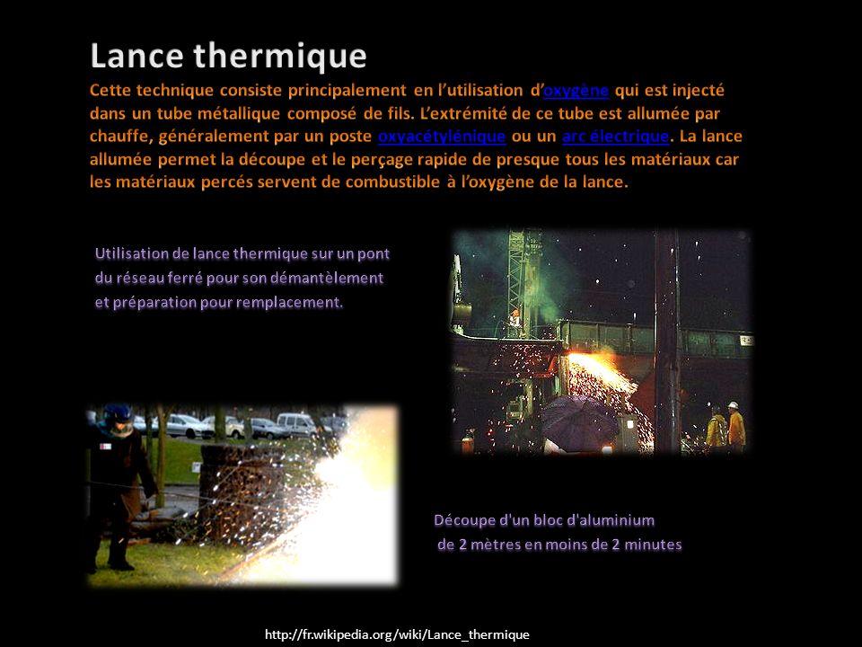 Lance thermique