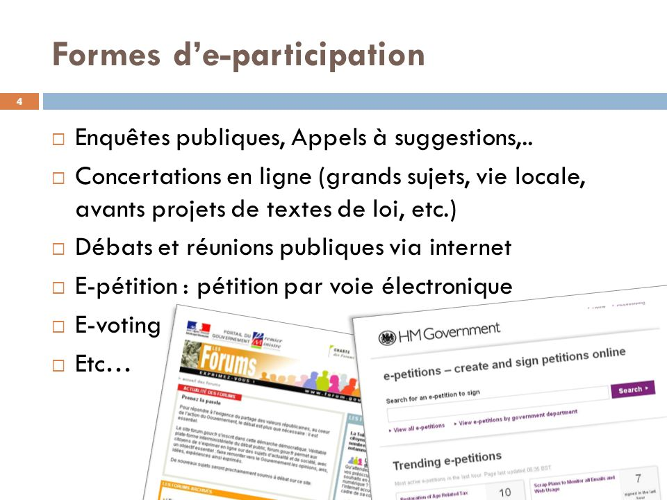 Formes d'e-participation