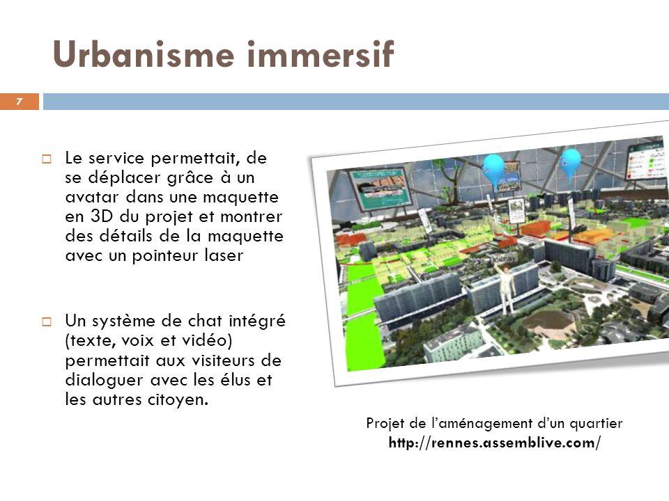 Projet de l'aménagement d'un quartier http://rennes.assemblive.com/