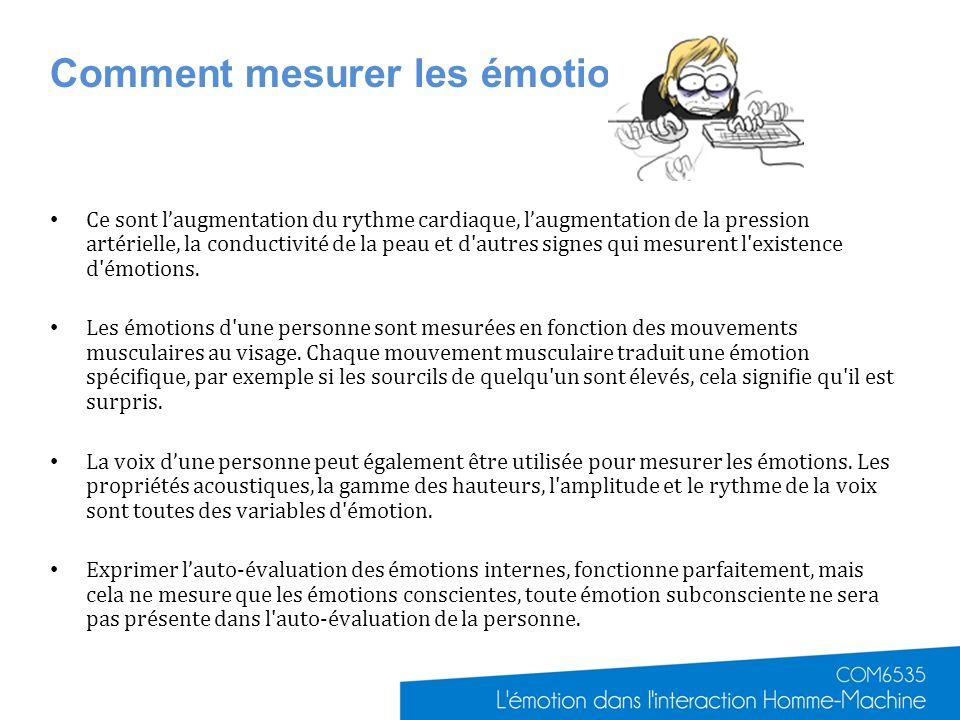 Comment mesurer les émotions