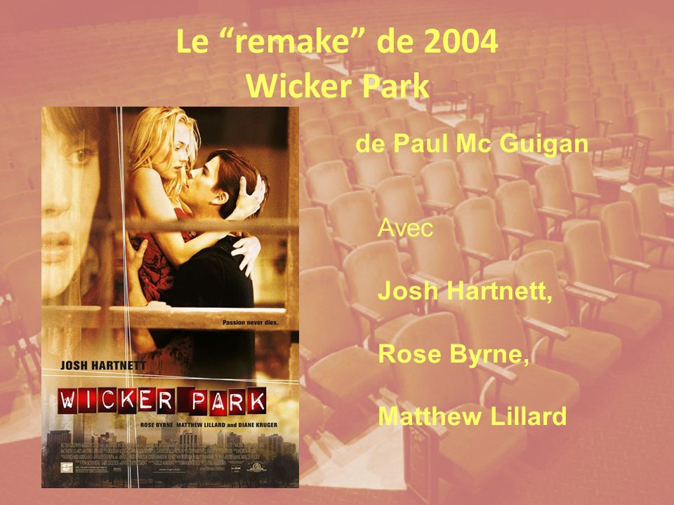 Le remake de 2004 Wicker Park