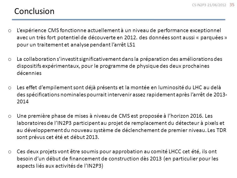 ConclusionCS IN2P3 21/06/2012.