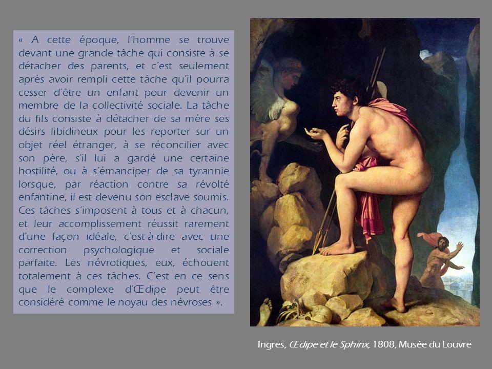 Ingres, Œdipe et le Sphinx, 1808, Musée du Louvre