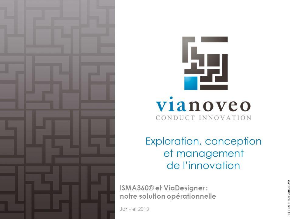 Exploration, conception et management de l'innovation