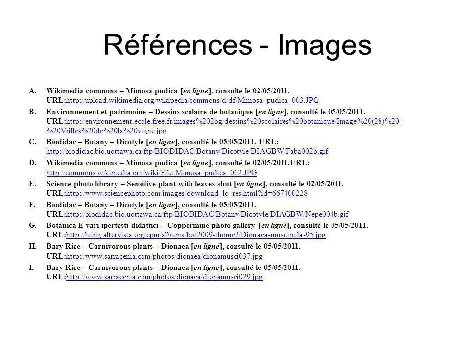 la thigmonastie chez les plantes ppt video online