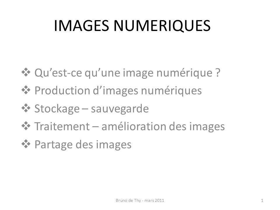 IMAGES NUMERIQUES Qu'est-ce qu'une image numérique