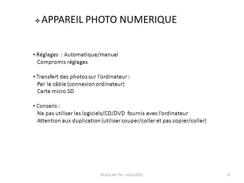 APPAREIL PHOTO NUMERIQUE