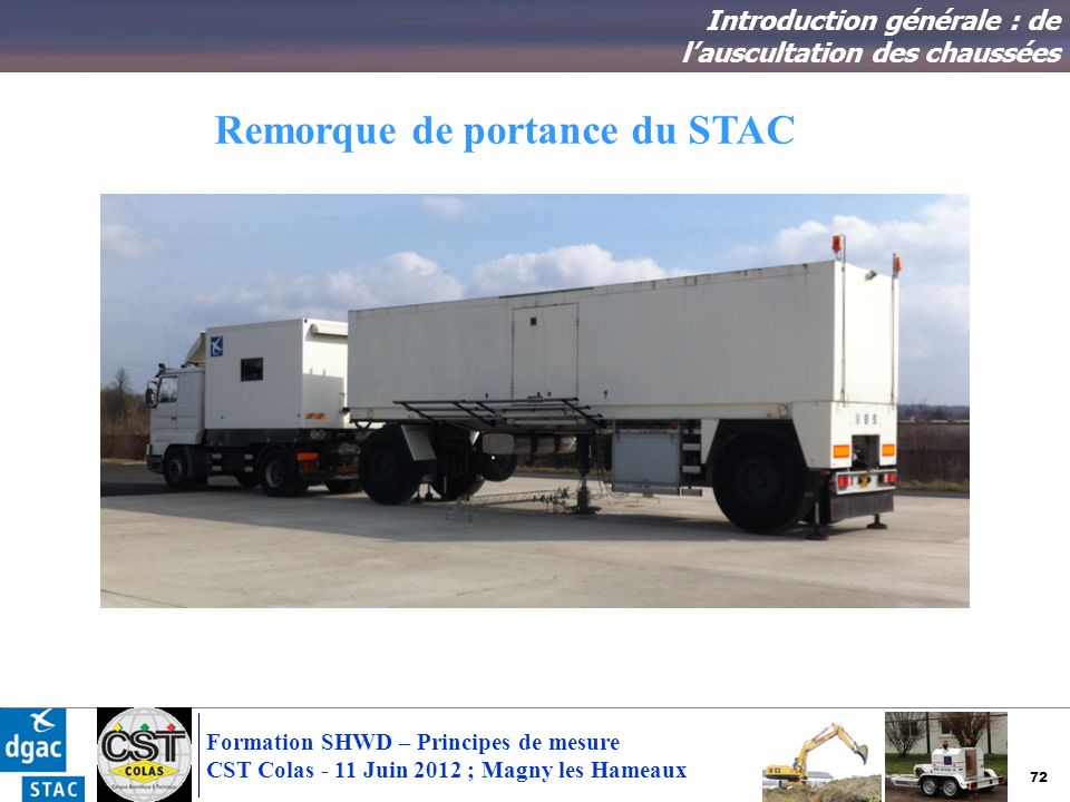 Remorque de portance du STAC