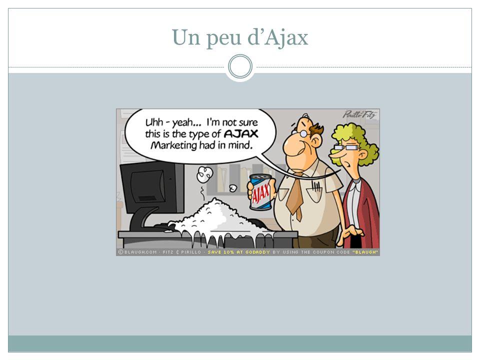 Un peu d'Ajax