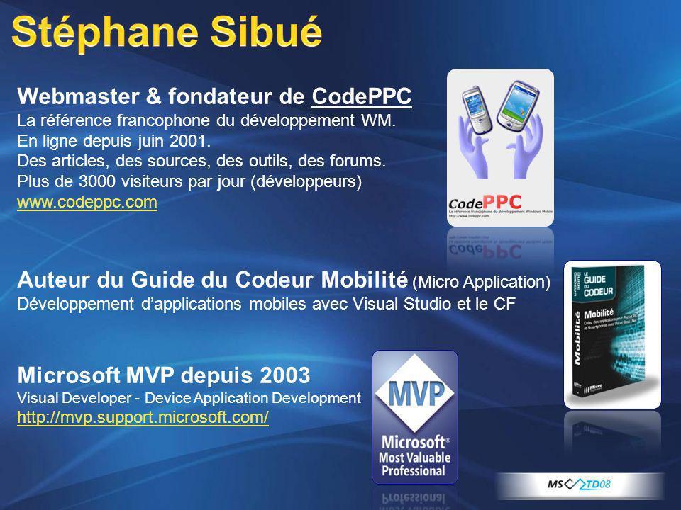 Stéphane Sibué Webmaster & fondateur de CodePPC