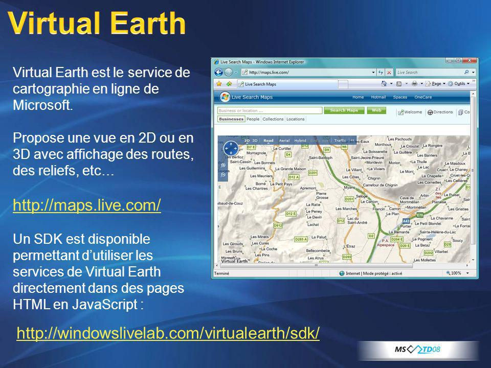 Virtual Earth http://maps.live.com/