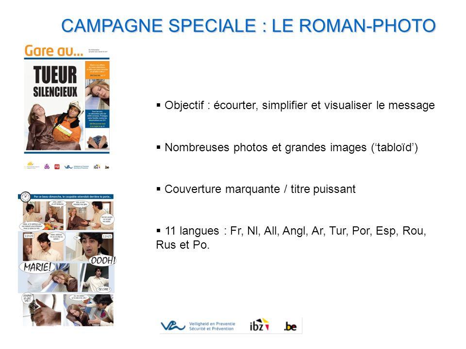 CAMPAGNE SPECIALE : LE ROMAN-PHOTO