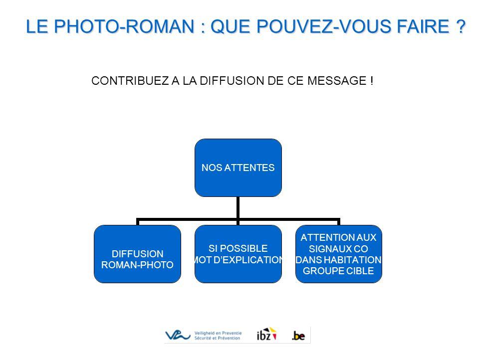 LE PHOTO-ROMAN : QUE POUVEZ-VOUS FAIRE