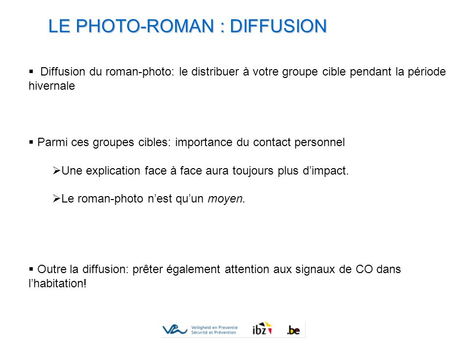 LE PHOTO-ROMAN : DIFFUSION