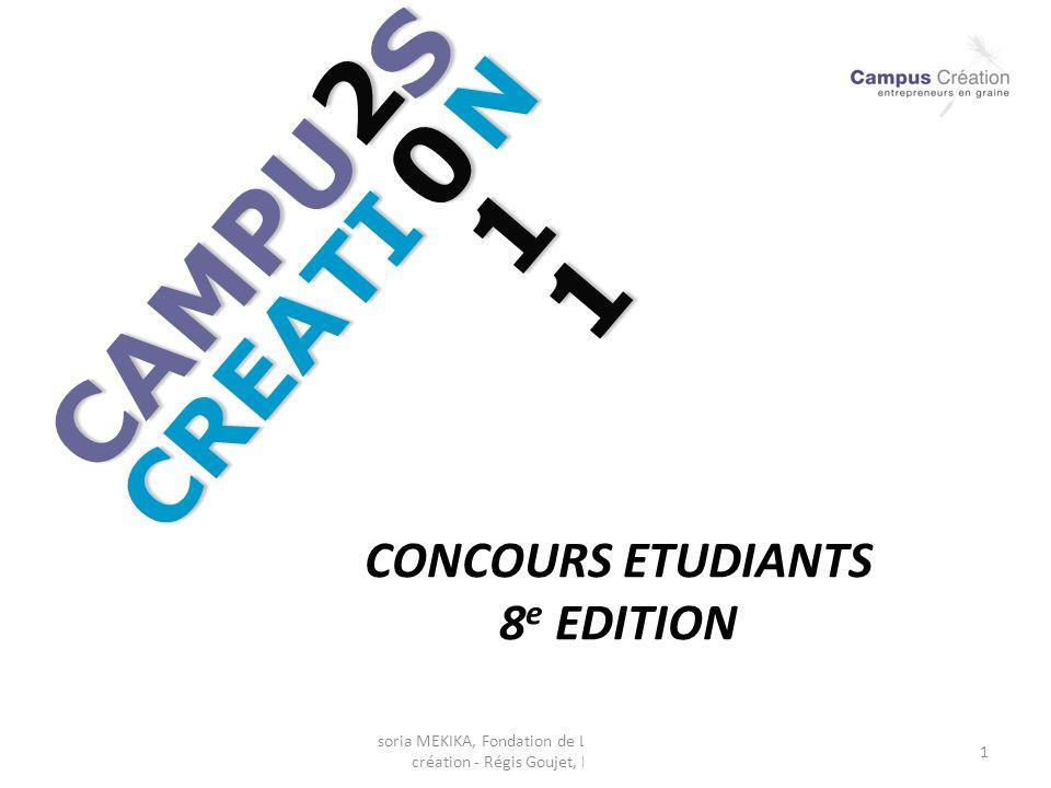 CAMPU S 2011 CREATI N CONCOURS ETUDIANTS 8e EDITION