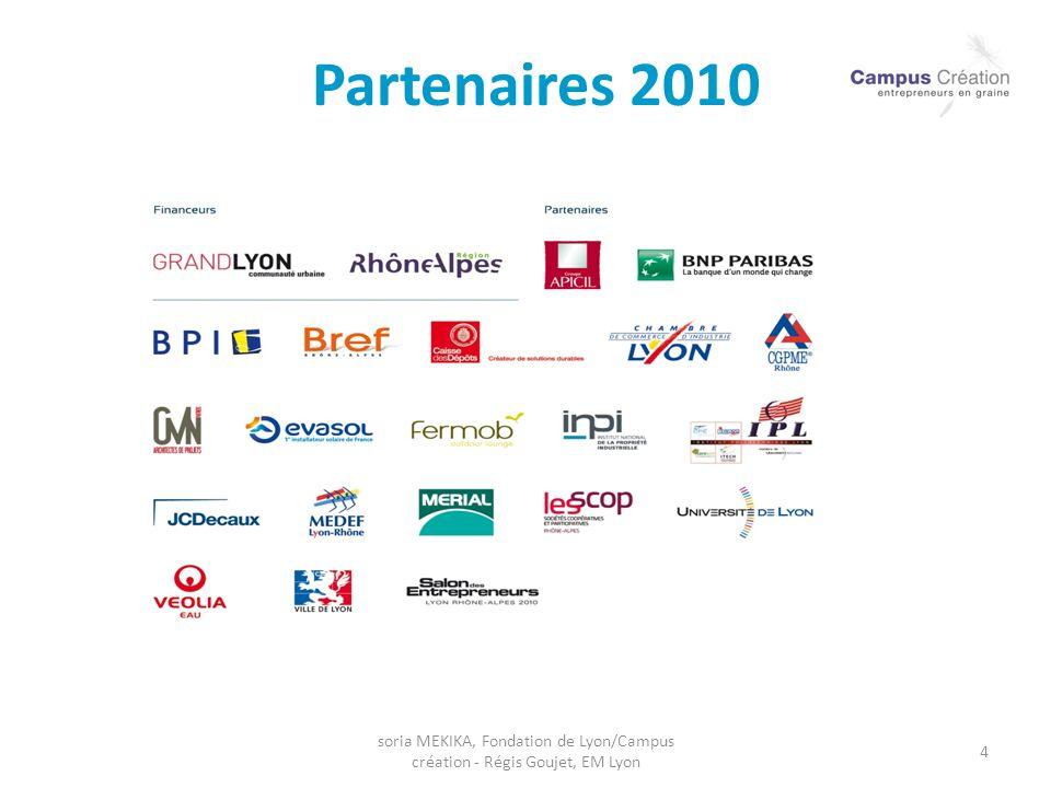 Partenaires 2010 soria MEKIKA, Fondation de Lyon/Campus création - Régis Goujet, EM Lyon