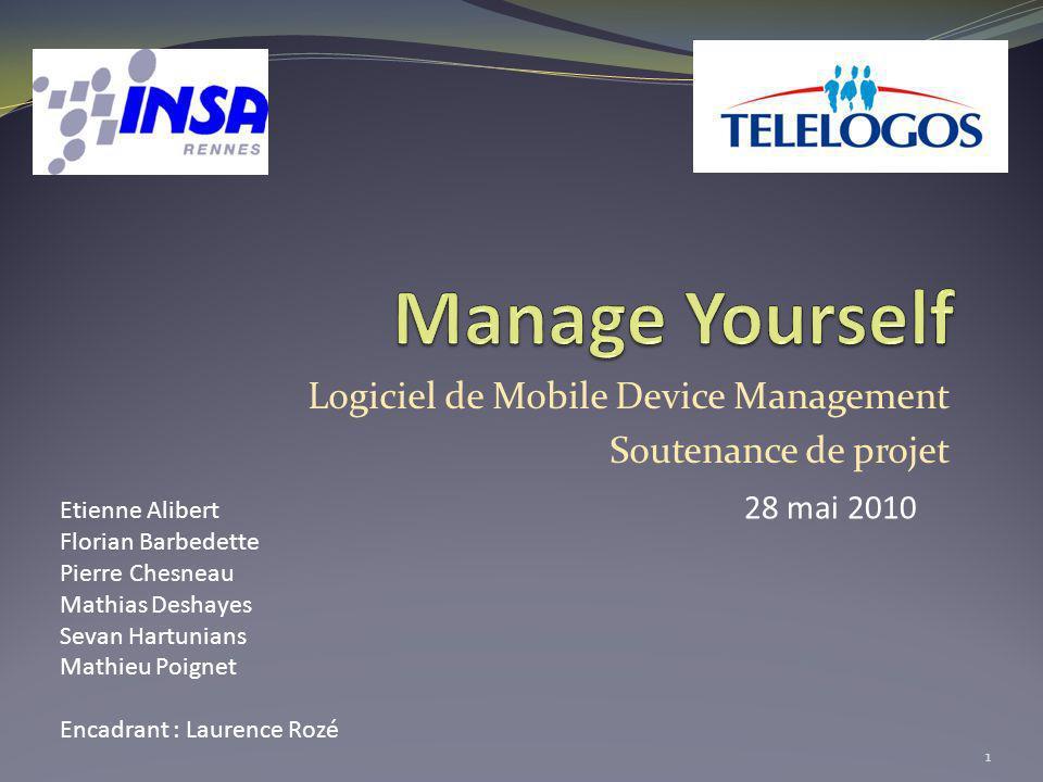 Logiciel de Mobile Device Management Soutenance de projet