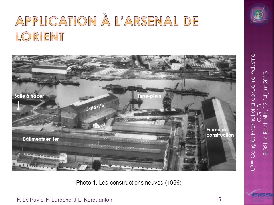 Application à l'Arsenal de Lorient