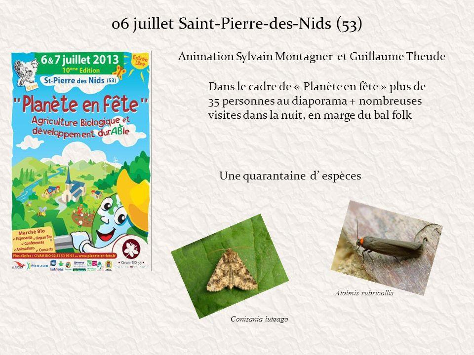 06 juillet Saint-Pierre-des-Nids (53)