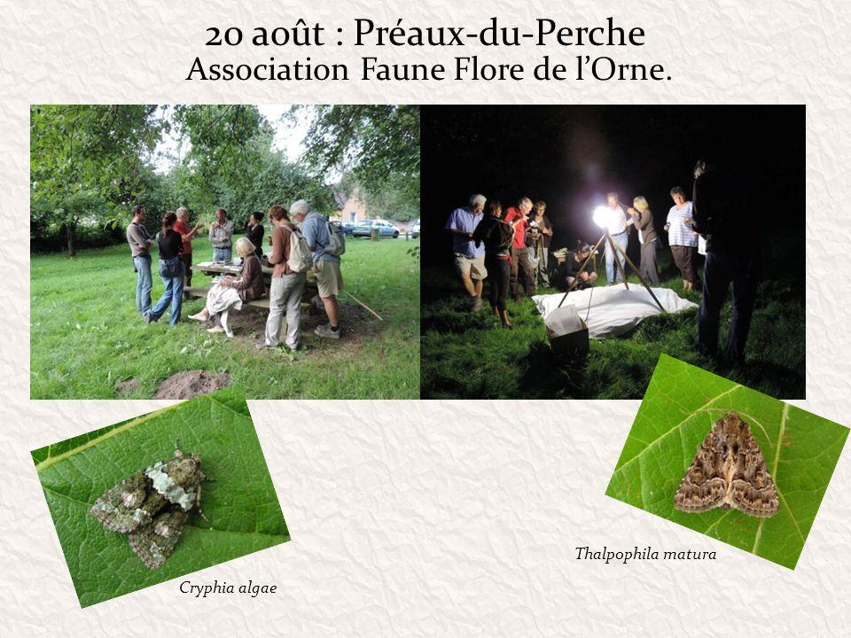20 août : Préaux-du-Perche