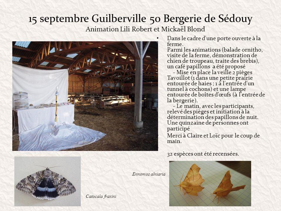 15 septembre Guilberville 50 Bergerie de Sédouy