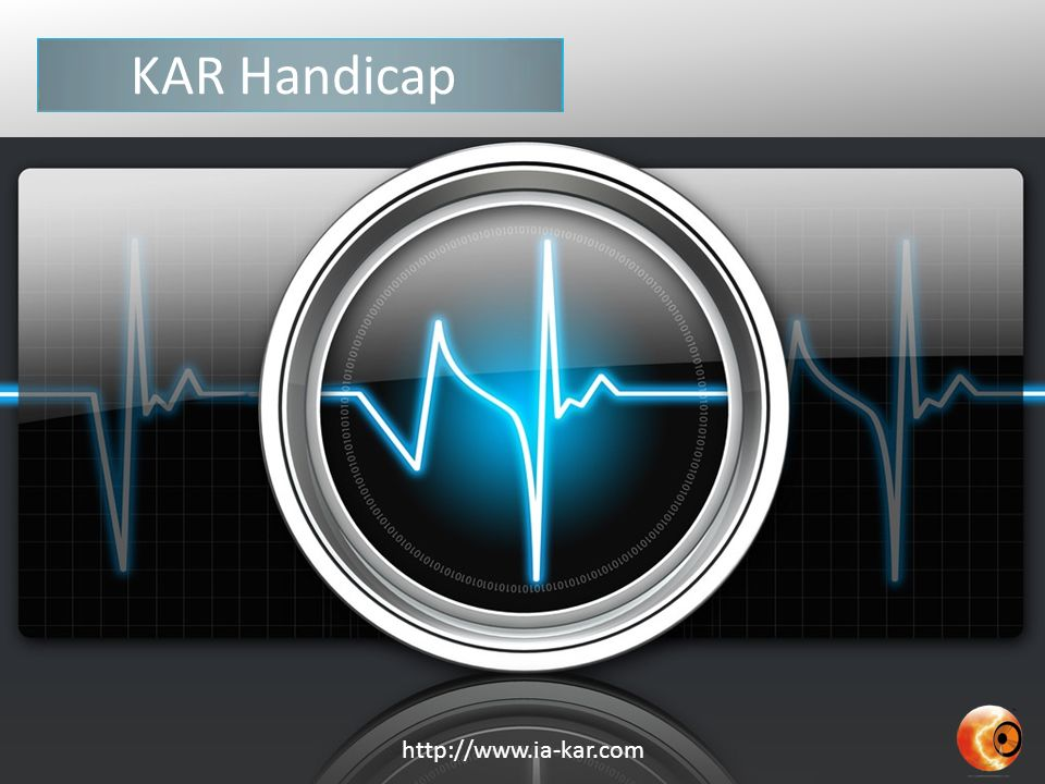 KAR Handicap http://www.ia-kar.com