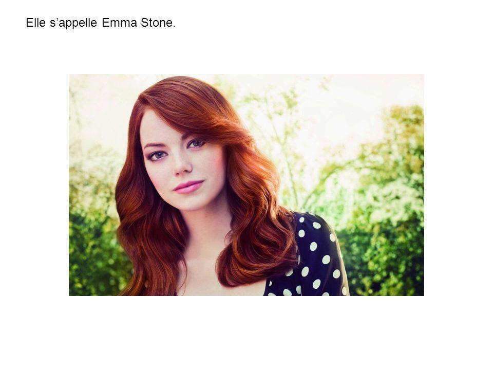 Elle s'appelle Emma Stone.