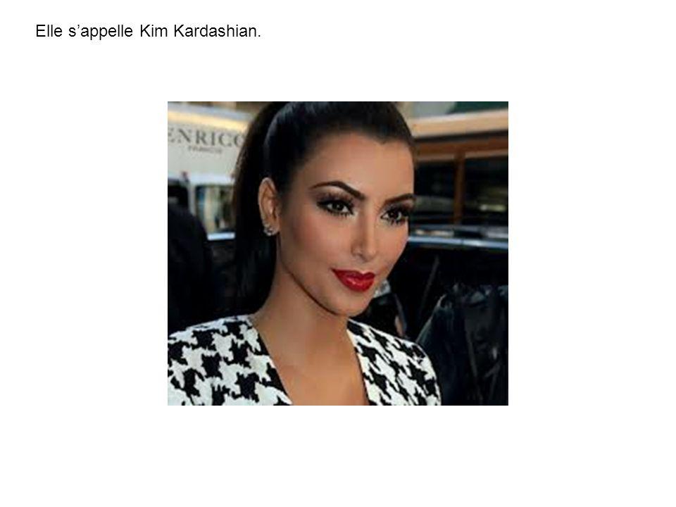 Elle s'appelle Kim Kardashian.