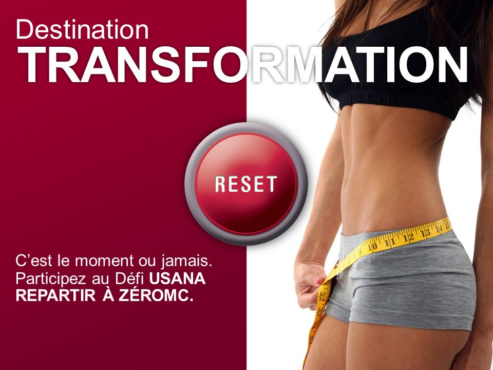 TRANSFORMATION Destination