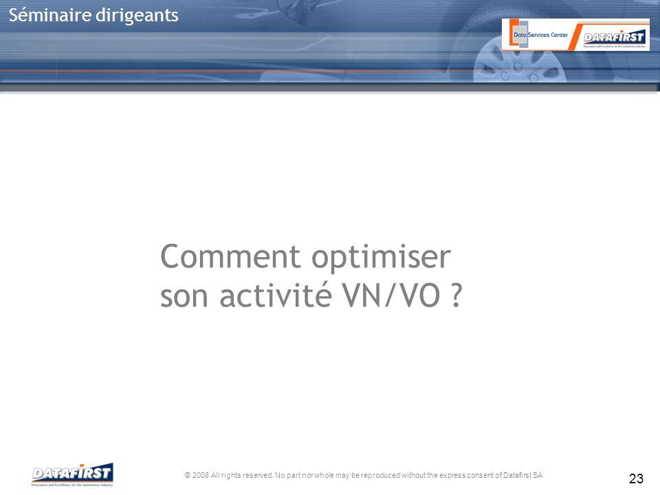 Comment optimiser son activité VN/VO