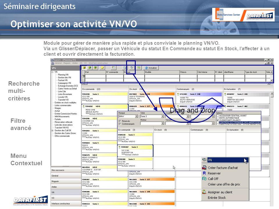 Optimiser son activité VN/VO