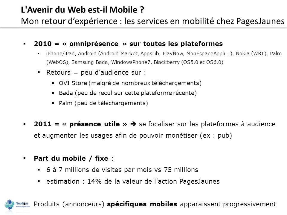 avenir windows mobile