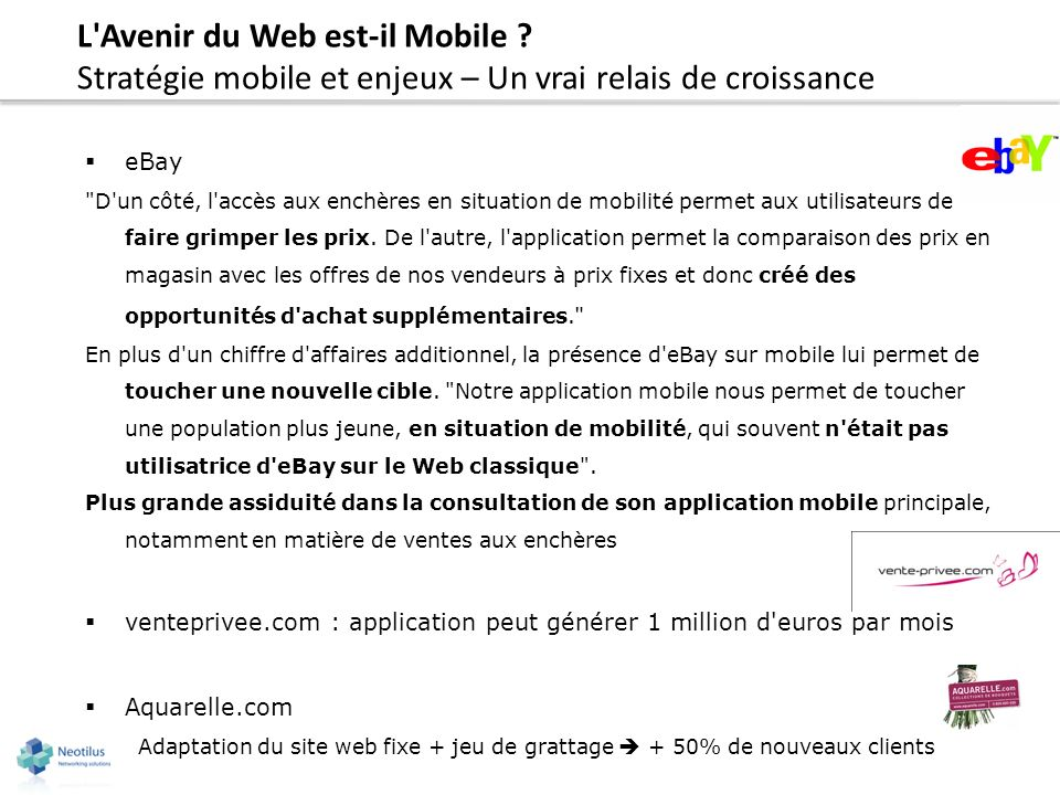 L Avenir du Web est-il Mobile