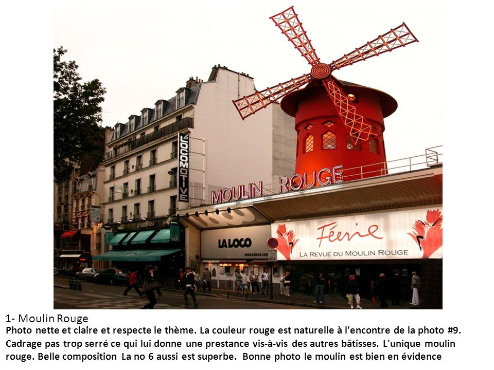1- Moulin Rouge