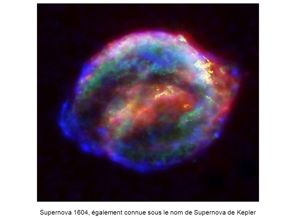 Supernova 1604, également connue sous le nom de Supernova de Kepler
