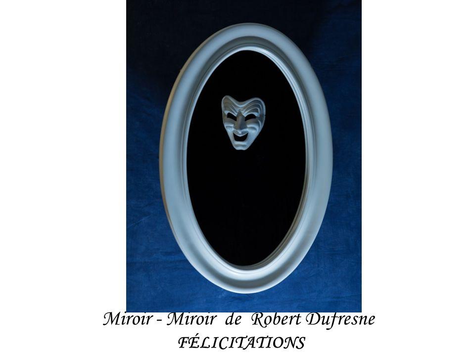 Miroir - Miroir de Robert Dufresne