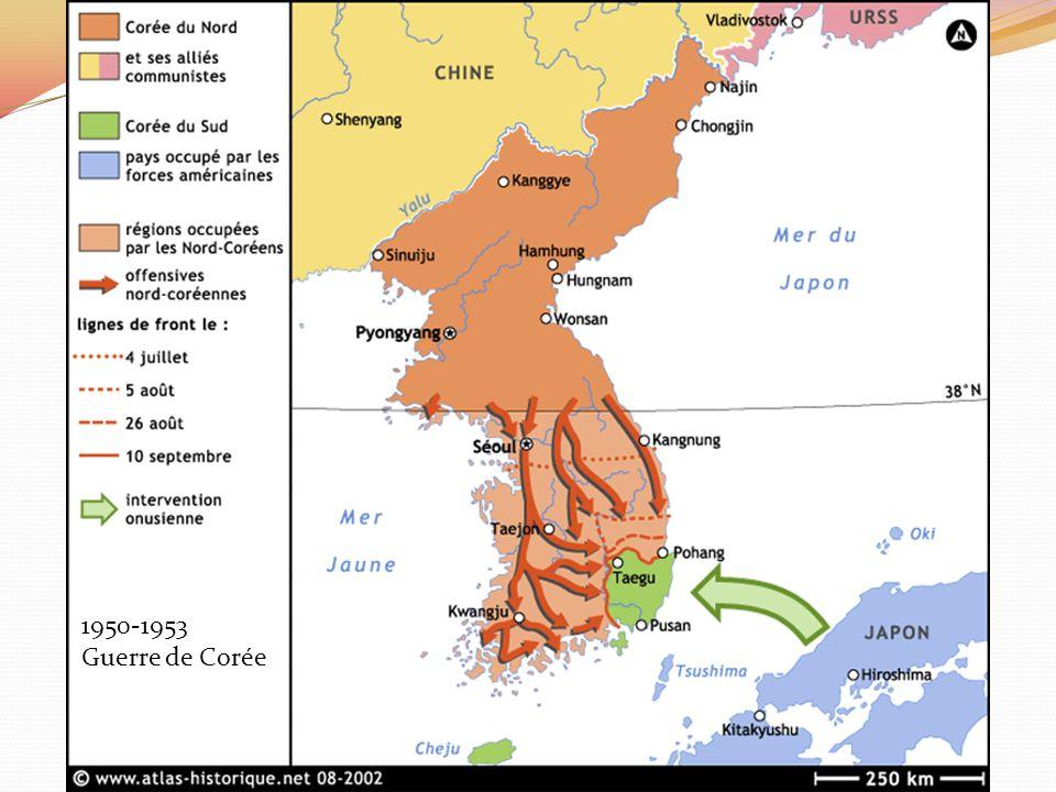 1950-1953 Guerre de Corée