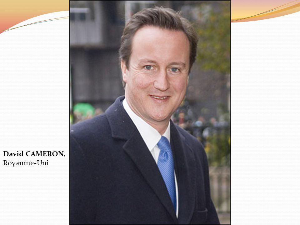 David CAMERON, Royaume-Uni