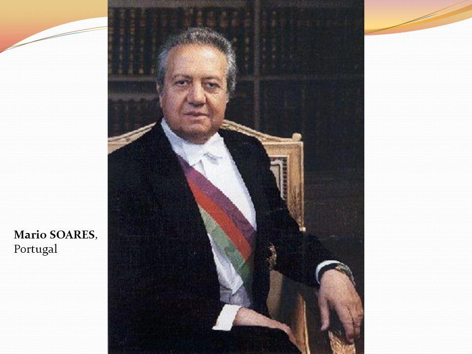 Mario SOARES, Portugal