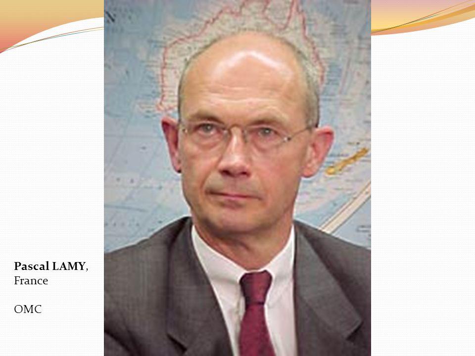 Pascal LAMY, France OMC