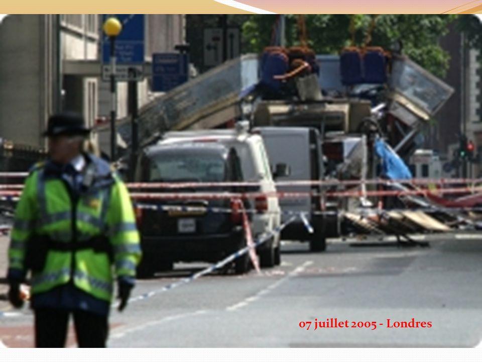 07 juillet 2005 - Londres