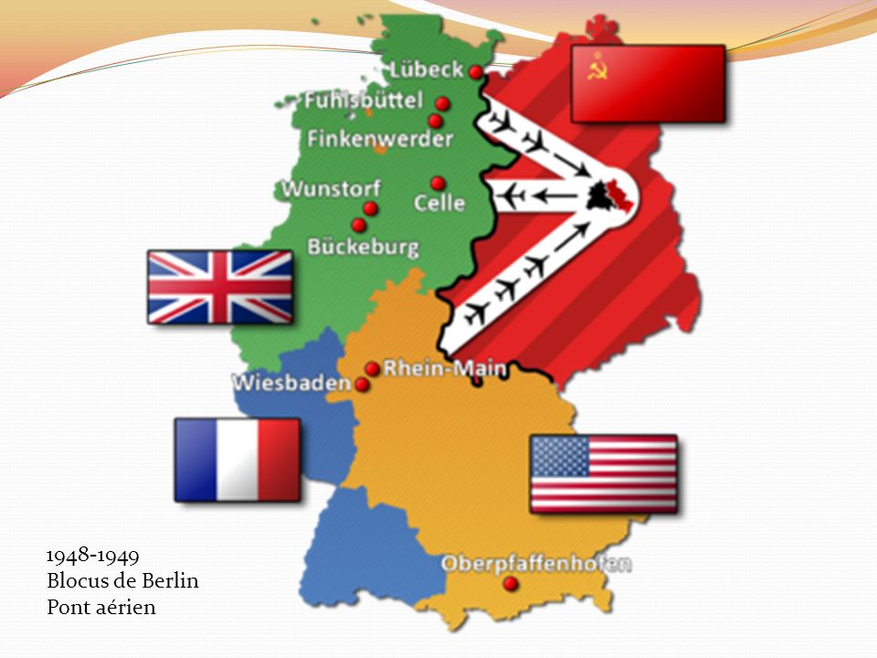 1948-1949 Blocus de Berlin Pont aérien