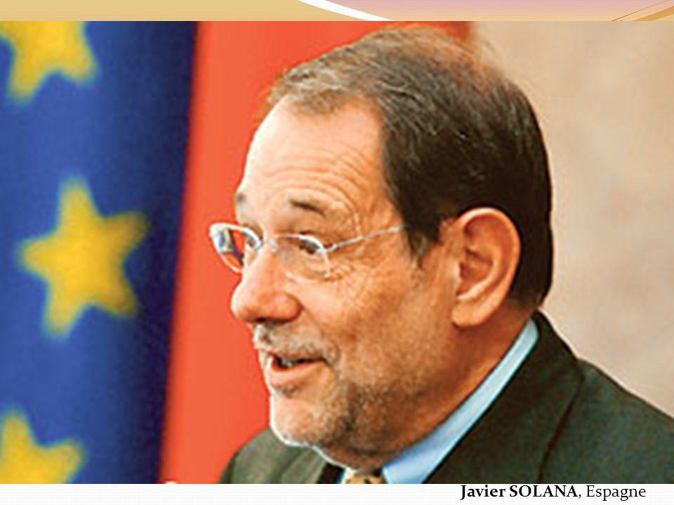 Javier SOLANA, Espagne