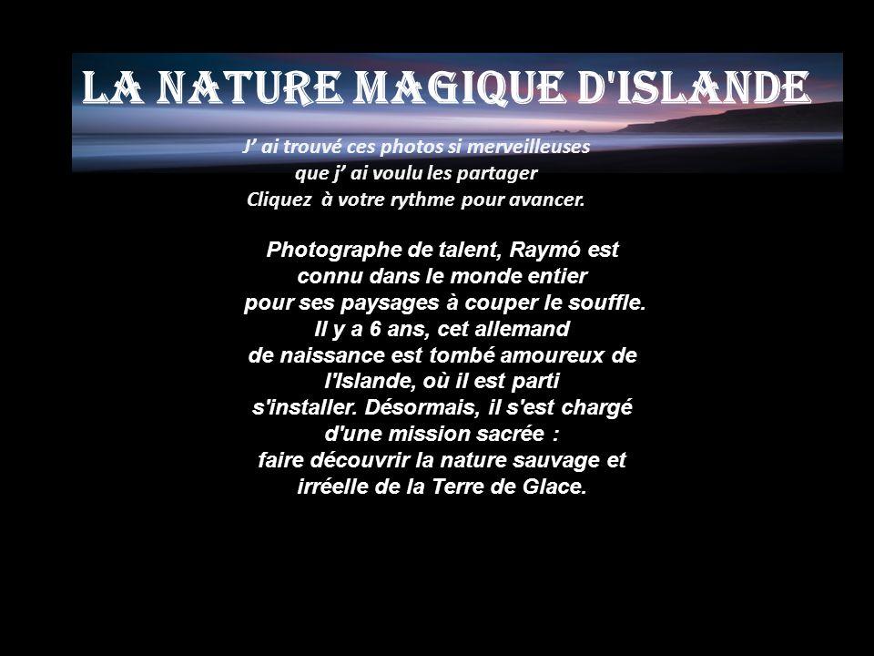 La nature magique d Islande
