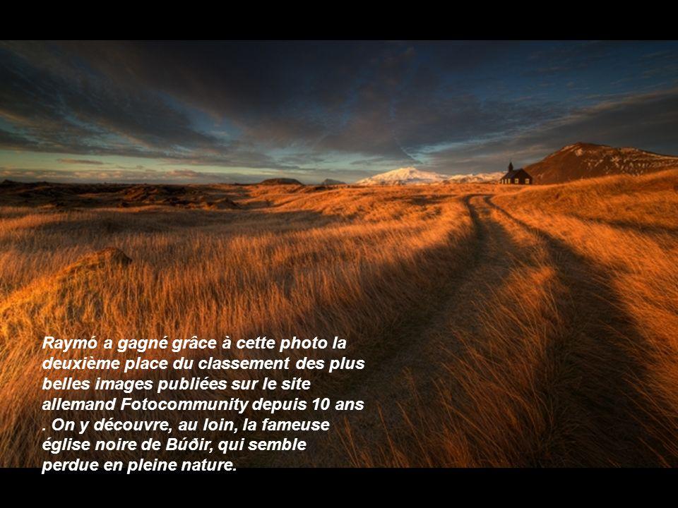 Raymó a gagné grâce à cette photo la deuxième place du classement des plus belles images publiées sur le site allemand Fotocommunity depuis 10 ans .