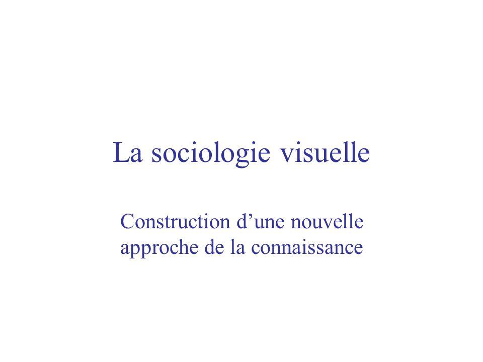 La sociologie visuelle