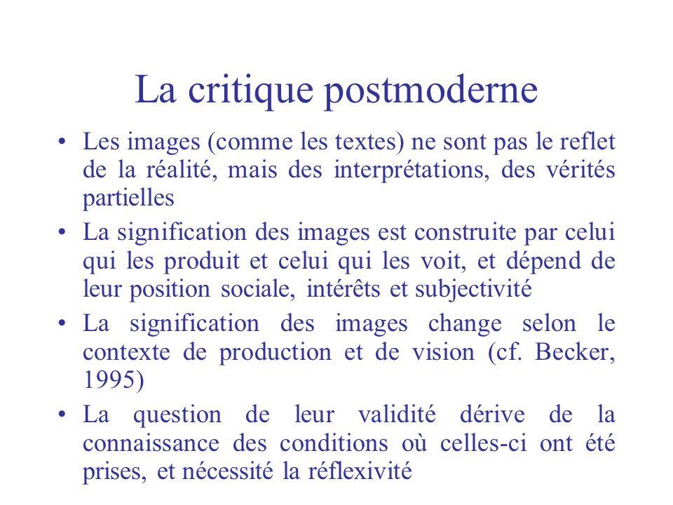 La critique postmoderne