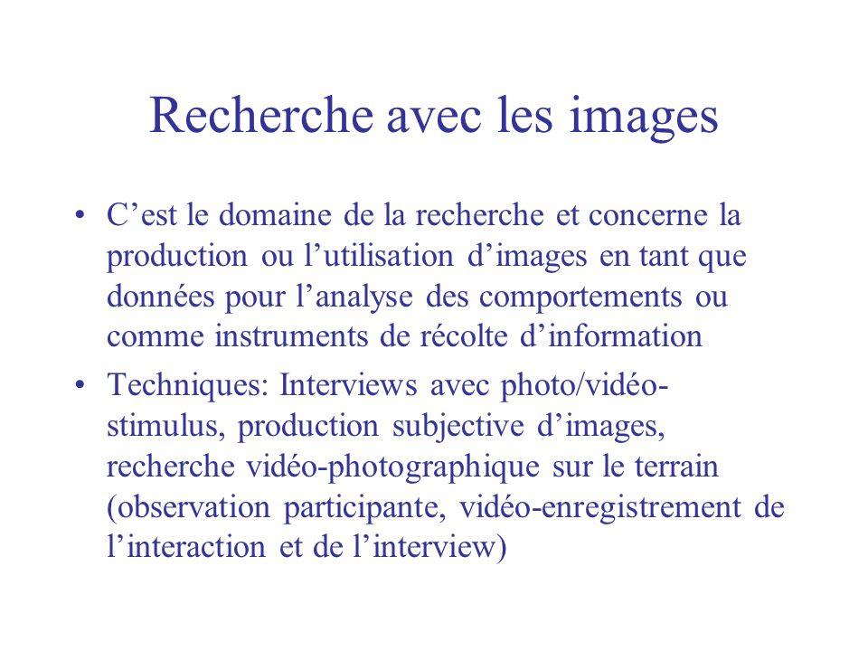 Recherche avec les images